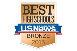 US News, Best High School, Bronze 2015